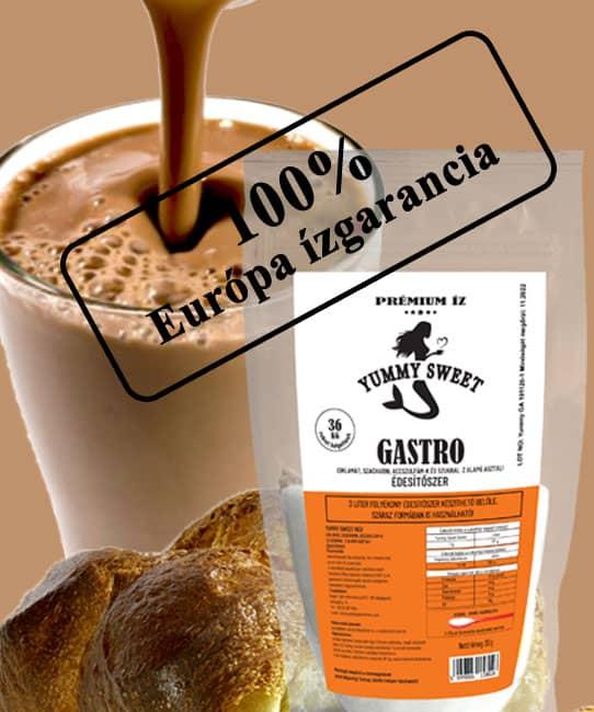 Yummy Sweet Gastro édesítőszer Európa íz garancia 2021