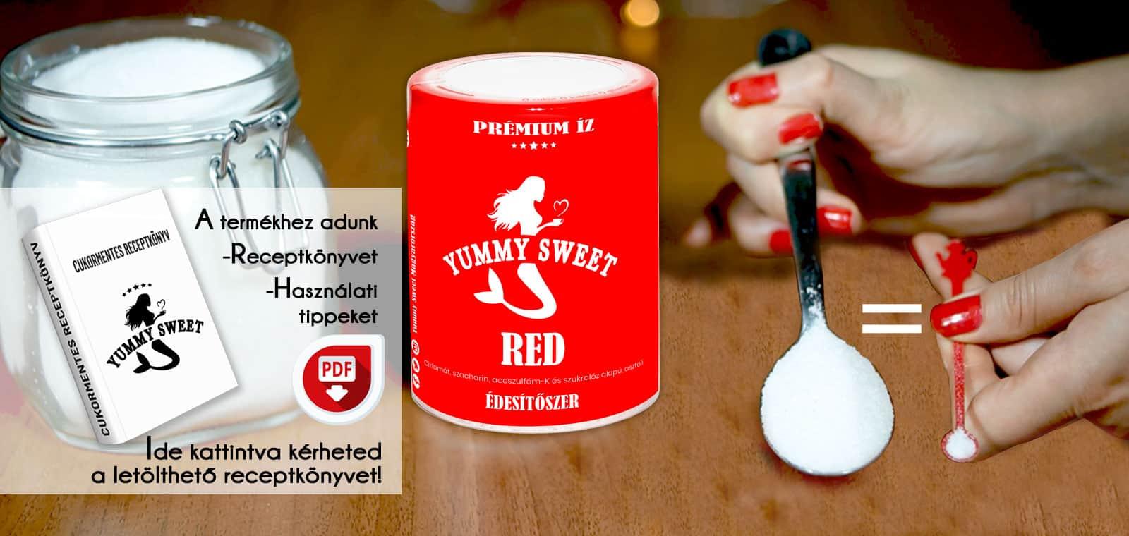 Yummy SweYummy Sweet édesítőszerek adagolása-cukormentes, diétás receptkönyvet Edesitoszerek Adagolasa Cukormentes Dietas Receptkonyv