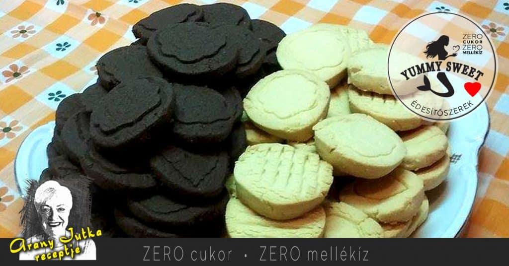 csokis, tejszínes, pudingos keksz- édesítőszeres, diétás, cukormentes sütemények, diétázóknak, fogyókrázóknak, cukorbetegeknek