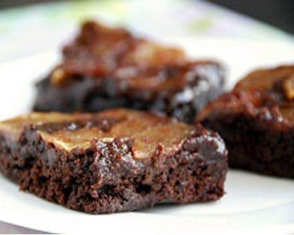 Édesítőszerek használata - cukormentes sütemény - almás brownie