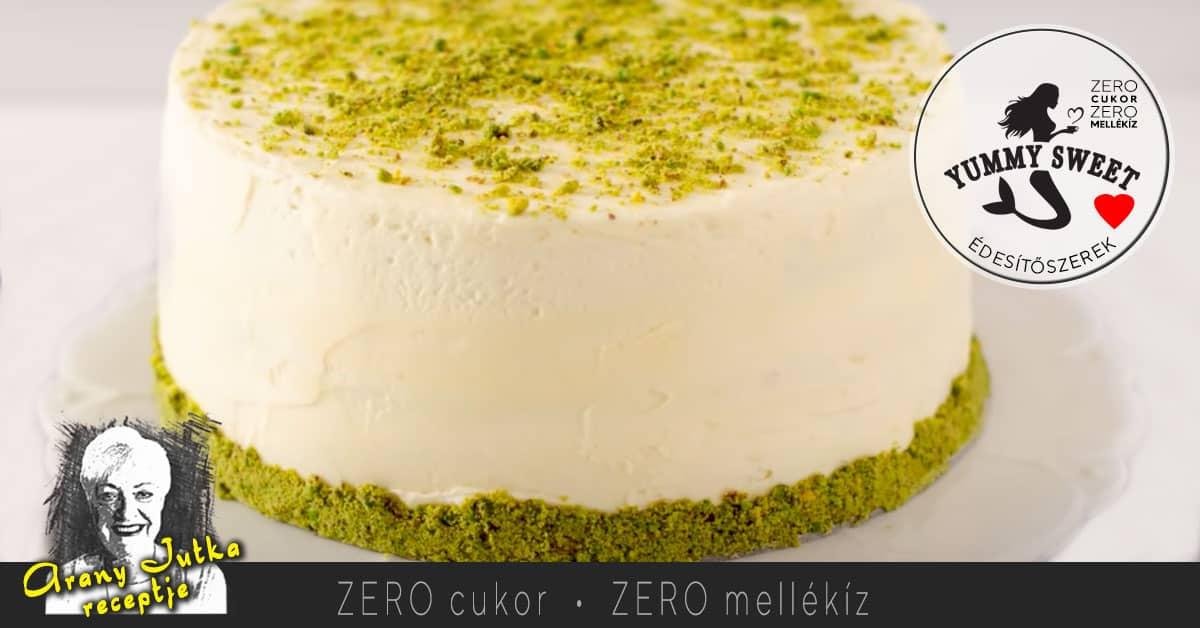 Mascarponés pisztácia torta – Diétás, cukormentes sütemények receptjei