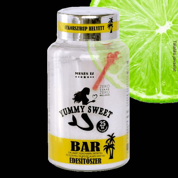 Yummy Sweet édesítőszerek Bar 150g 2021 d