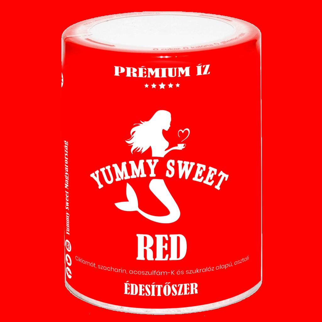 Yummy Sweet édesítőszerek-Red dobozos 150 g 2020