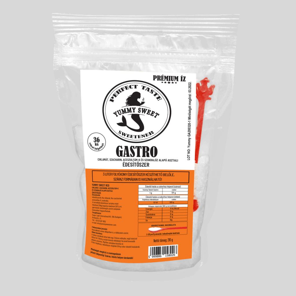 Yummy Sweet Édesítőszerek-Gastro- 210g