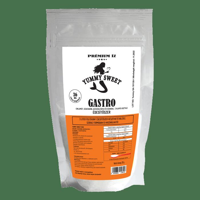 Yummy Sweet édesítoszerek Gastro 210g 700p 2021